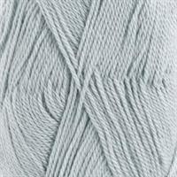 Baby alpaca silk - isblå, 50 gr