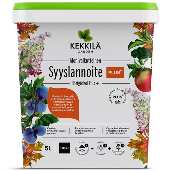 Kekkilä Syyslannoite PLUS 5L