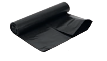 Pro Svart firkantsekk 70x110 cm 100l - ktg 160 stk