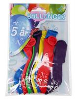 Tinka ballonger 8 pk 5 år Flerfarge