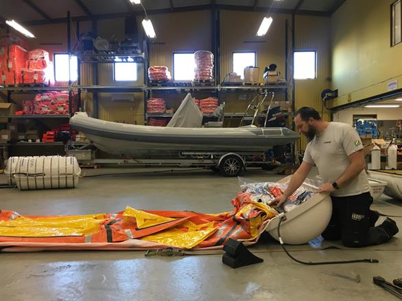 Ekens Naval is a professional service centre for life saving equipment