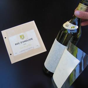 Wine label remover, 10 stykk