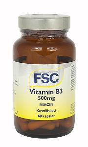 B3 Niacinamid 500mg.FSC