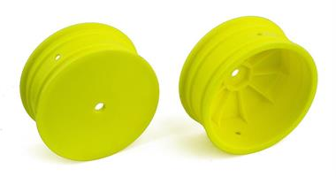 Front Wheels, 12 mm Hex 4WD buggy, yellow