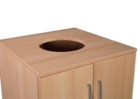 Utnäs - Avfallsmodul 140L 60x60x110cm