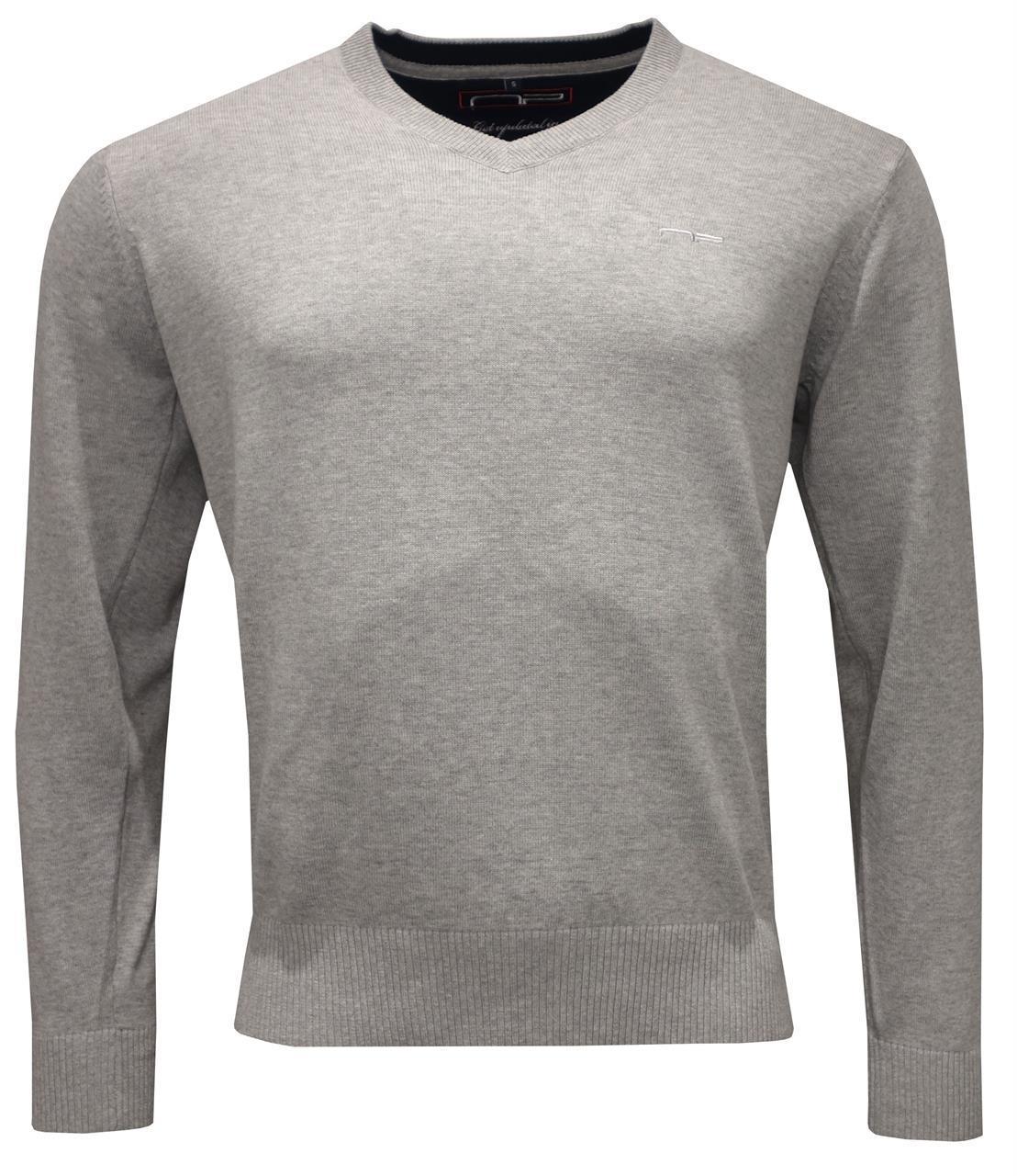 V -neck 1670 M L Grey S