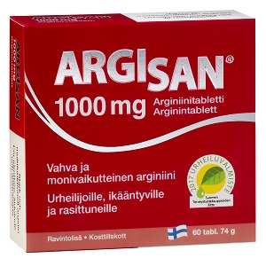 L Arginine 1000mg Argisan 60 tabl