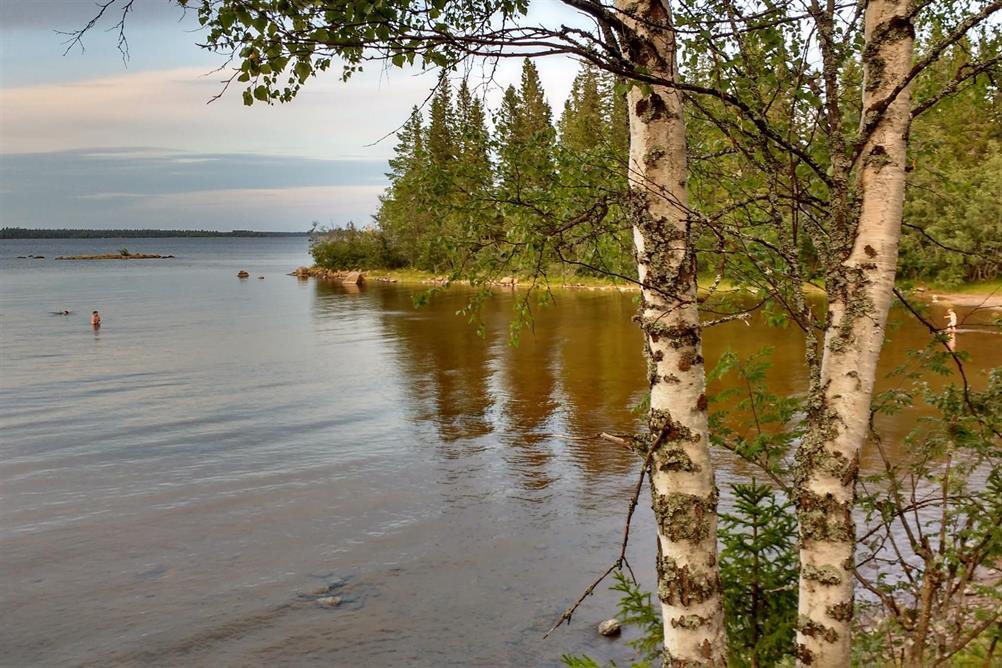 Sommarbad på Renskär.