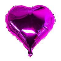 Folie - hjerteform /Lilla 4 stk