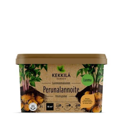 Kekkilä luonnonmukainen perunalannoite 3L