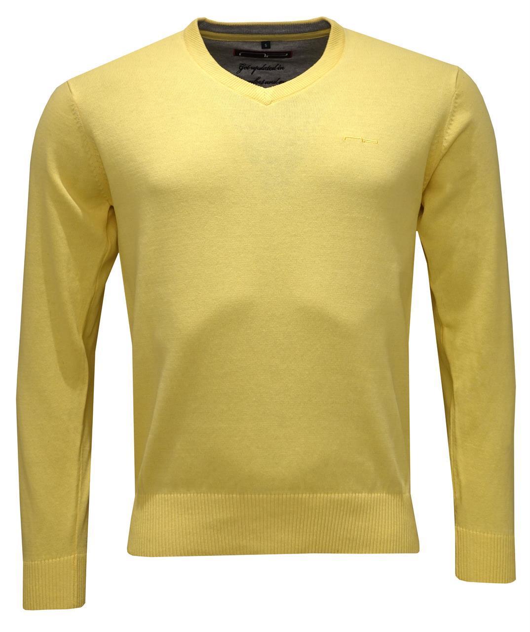 V -neck 1670 Light Yellow S