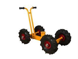 Rabo Moon-Car underrede på hjul till grävmaskin