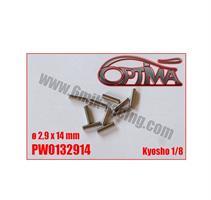 6MIK - Pinnar För Drivaxlar 2.9 x 14mm (10)