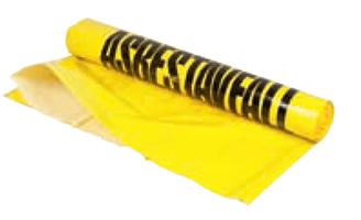 Asbestsekk 240l - 90 My - ktg a 100 stk