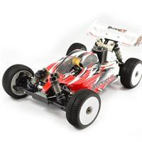 HOBAO -Hyper VS 21 3-P Motor - Röd - 1:8 RTR Buggy