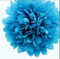Pom Poms - Blå  30cm