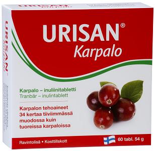 Urisan Tranbär-Inulin 60t