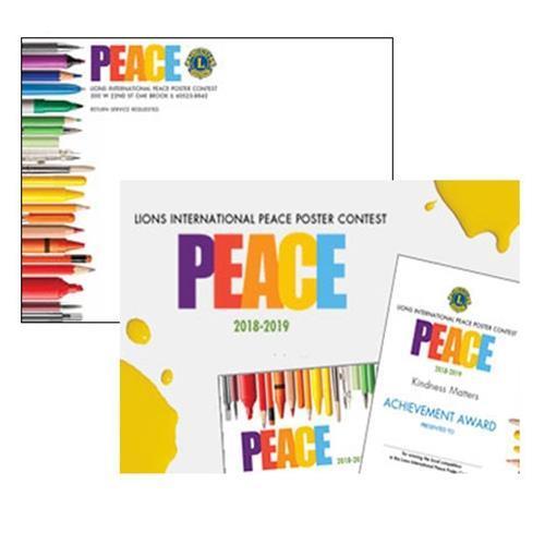 PPK1SW - Fredsaffichstävlingspaket