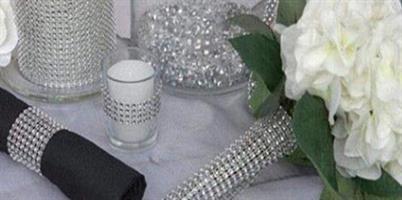 Diamant wrap Bordløper 12 cm bredde
