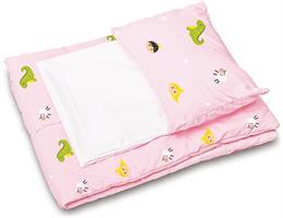 Sänglinne rosa Royal