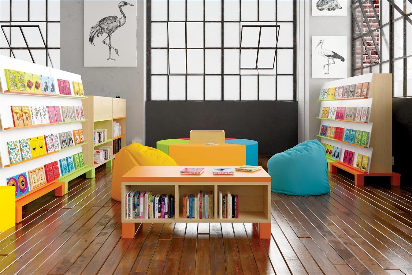 Bibliotek för de yngsta