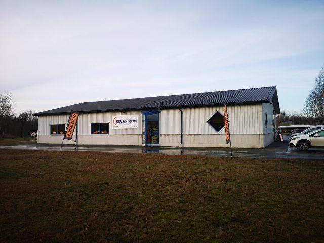 Vår butik på Pappersbruksvägen 10 A, Broby