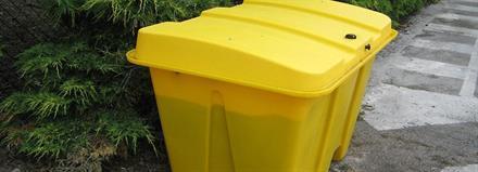 Lagringskasse - 500L Plast