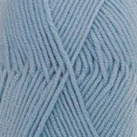 Merino Extra fine,0019 Lys gråblå, 50 gr