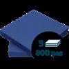 Lautasliina 40x40cm 1/4 3-k Sininen 800kpl