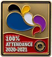 100%-ig närvaro för 2020-2021