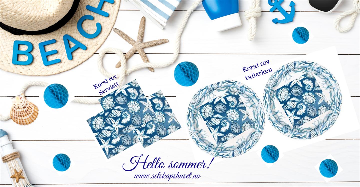 Varme, solfylte dager er endelig her. Nå er det på tide å begynne å planlegge sommerfeiringen!