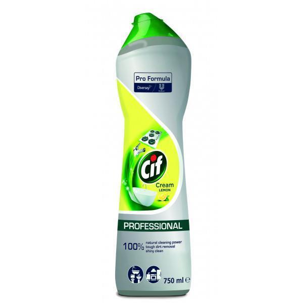 Cif Pro Formula Cream Lemon puhdistusneste 750ml