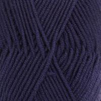 Merino Extra Fine - 0020 Mørk blå, 50 gr