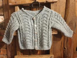 Mønster Luna Air jakke og genser
