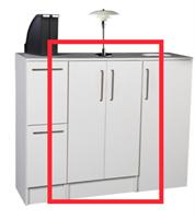 Utnäs - Sorteringsmodul 4x23L 60x60x110cm
