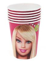 8 Stk Papirkopp - Barbie