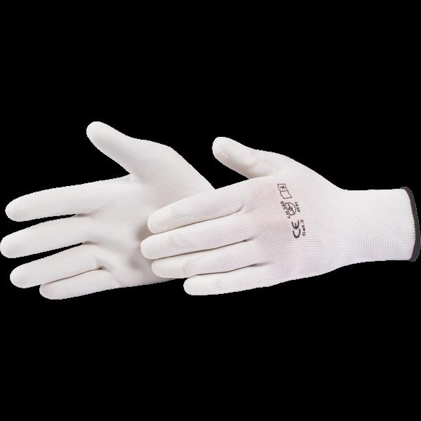 Handske Vit Softgrip XL