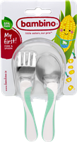 Bambino My first! Fork & Spoon 1p MINT