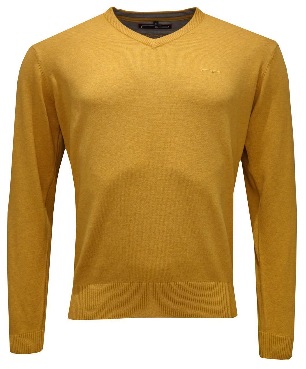 V -neck 1670  Mustard L