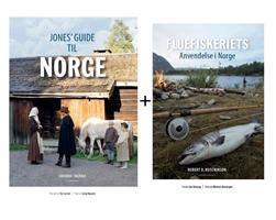 Jones guide til Norge + Fluefiskeriets Anvendelse