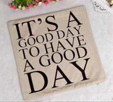 Putetrekk - It's a good day to have a good day