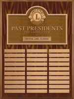 G300 - Plakett för f d klubbpresidenter