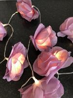 Til Leie LED - Lysslynge Lille blomster