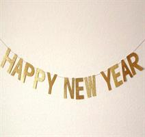 1 set HAPPY NEW YEAR Banner