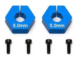 FT Clamping Wheel Hexes, 5.0mm