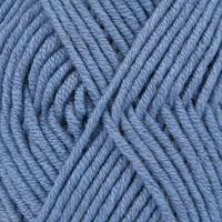 Big Merino -0007  Jeans blå 50 gr