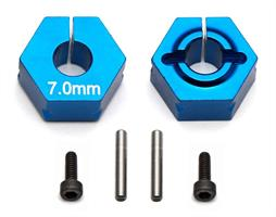 FT Clamping Wheel Hexes, 7.0mm