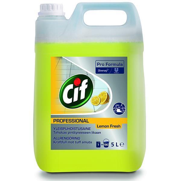 Cif Professional Lemon Fresh yleispuhdistusaine 5L