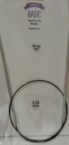 Drops Basic rundpinne, 3.5mm