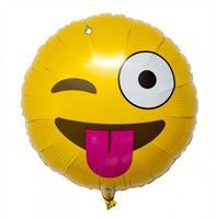 Folie - Winking Emoji ballong